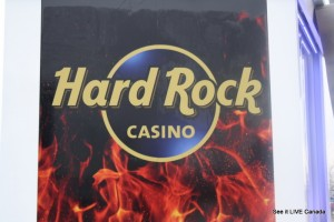 ICONIC HARD ROCK BRAND SIGN NOW IN VANCOUVER BRITISH COLUMBIA CANADA